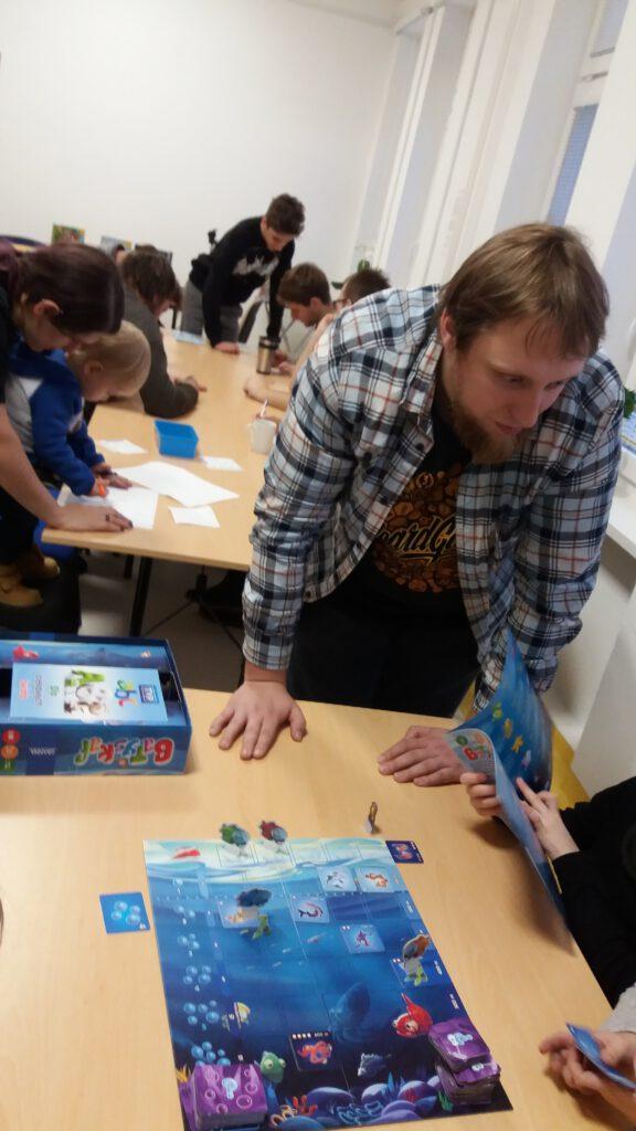 Warsztaty gier planszowcyh z wydawnictwa Granna z Ekipą Graty i Fundacją Pasjonaauci