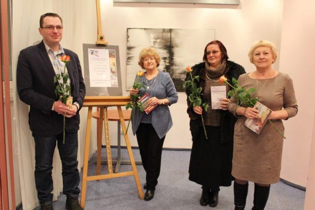 Spotkanie krośnieńskich poetów w Saloniku Artystycznym Krośnieńskiej Biblioteki Publicznej