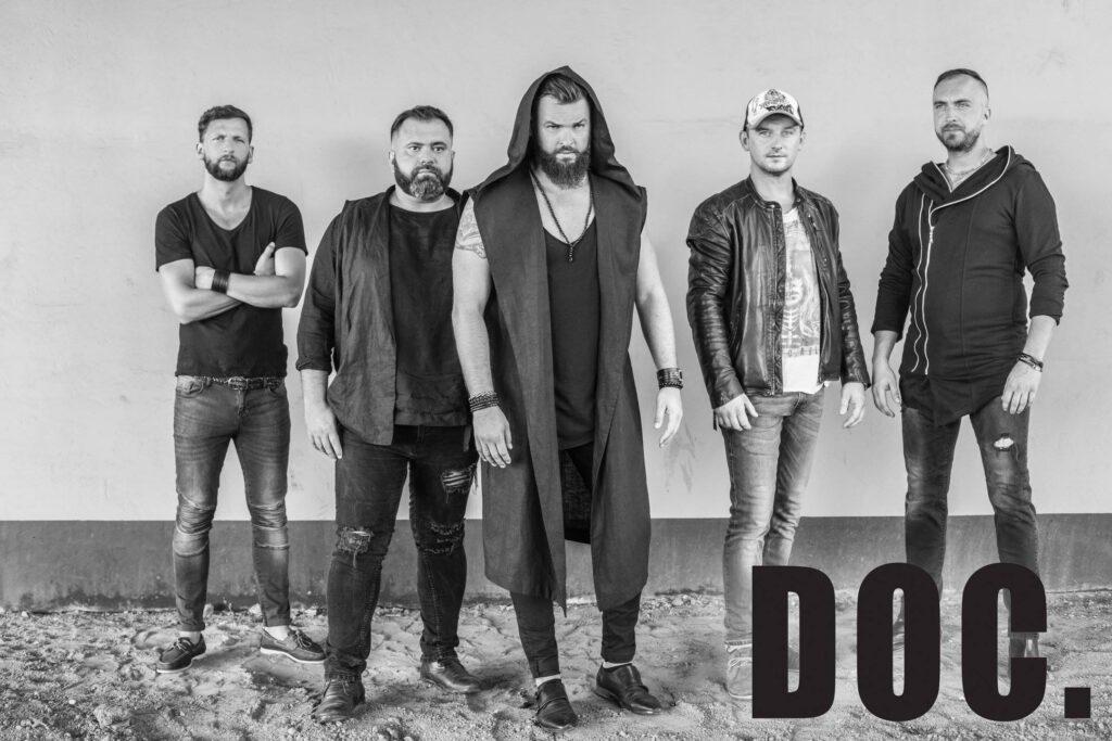 Członkowie zespołu DOC.: Konrad Baum, Tomasz Ryznar, Witold Drapała, Filip Łukaszewicz, Kacper Radek
