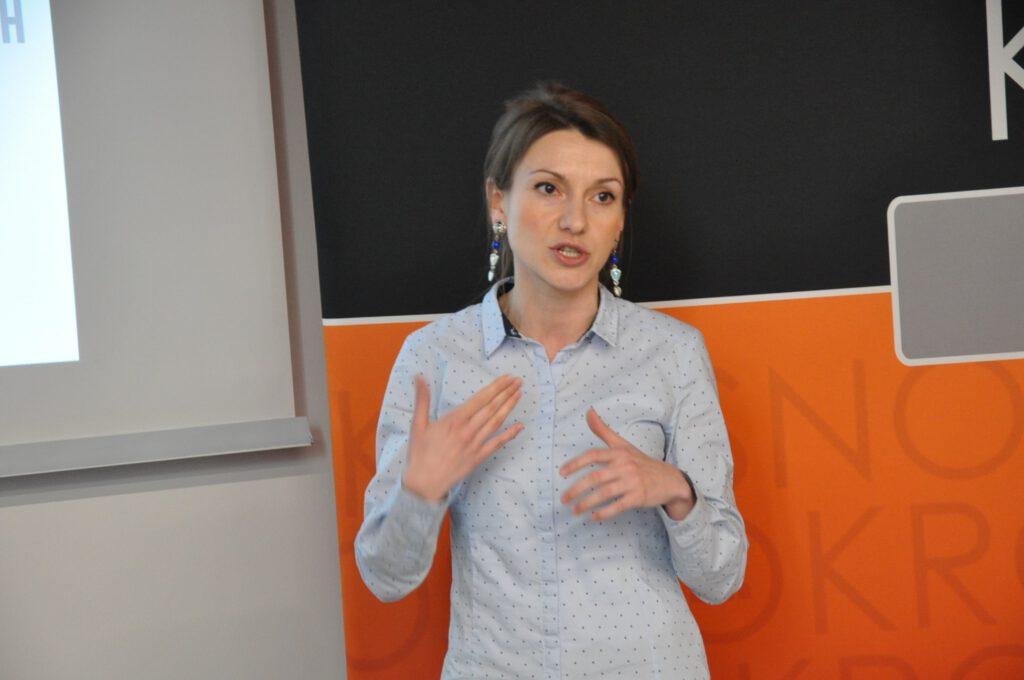 Dyrektor BWA Krosno Ewelina Jurasz