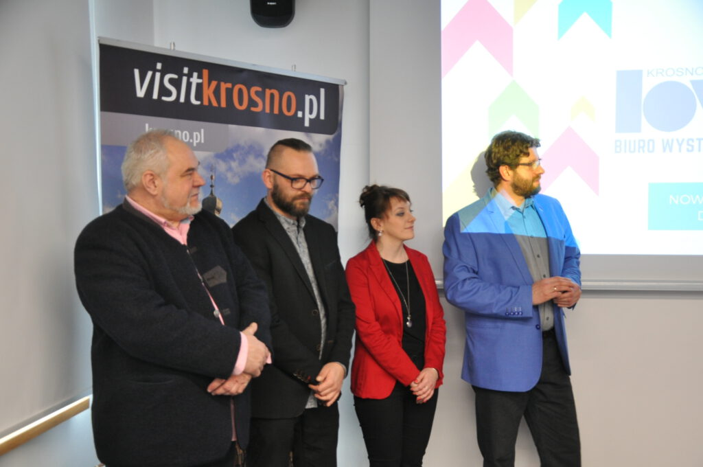 Załoga Biura Wystaw Artystycznych w Krośnie