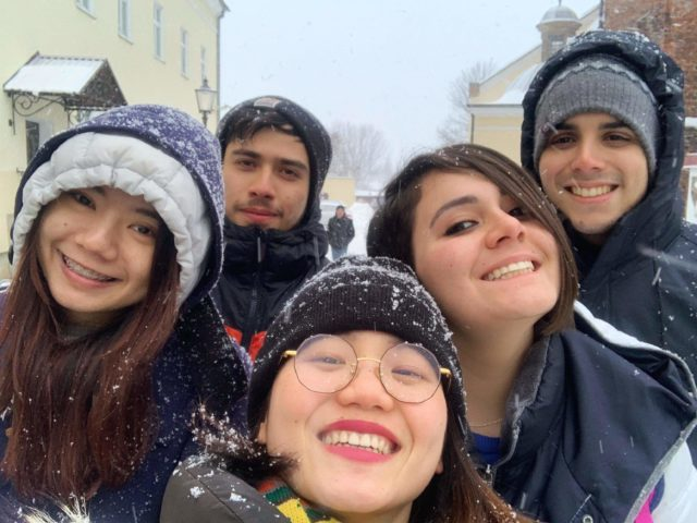 Studenci z programu AIESEC w Krośnie