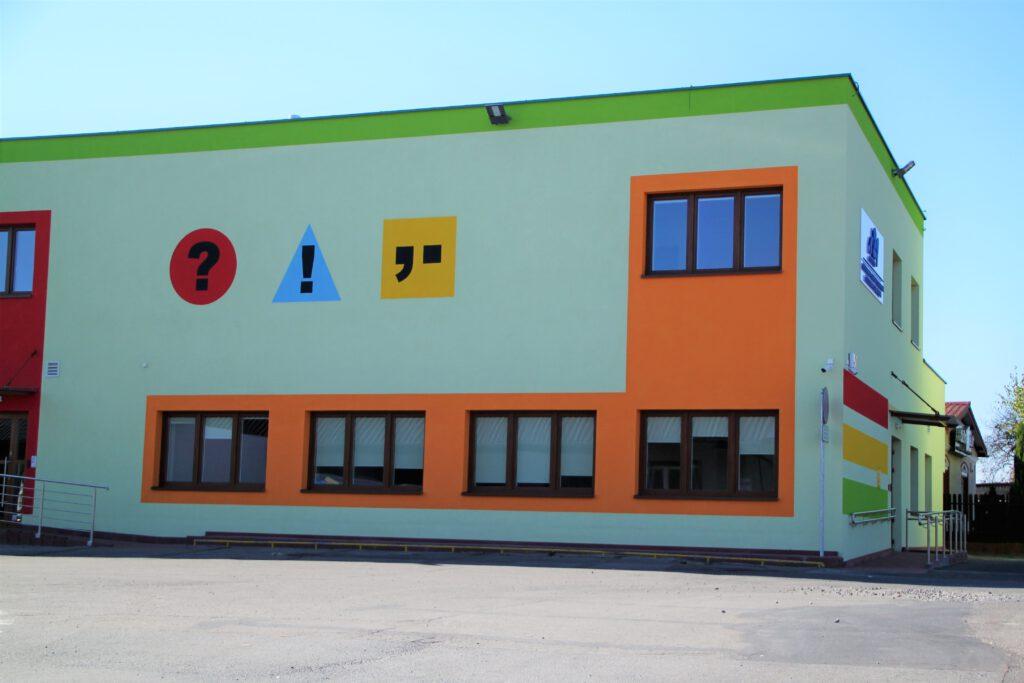 Budynek szkoły Niebieska 21 przy ul. Czajkowskiego w Krośnie