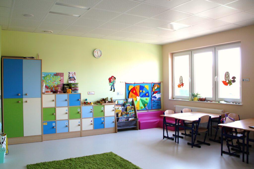 Sala w szkole Niebieska 21