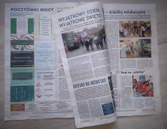 KrosnoSfera, bezpłatny dwutygodnik społeczno-kulturalny wydawany przez fundację Pasjonauci w Krośnie