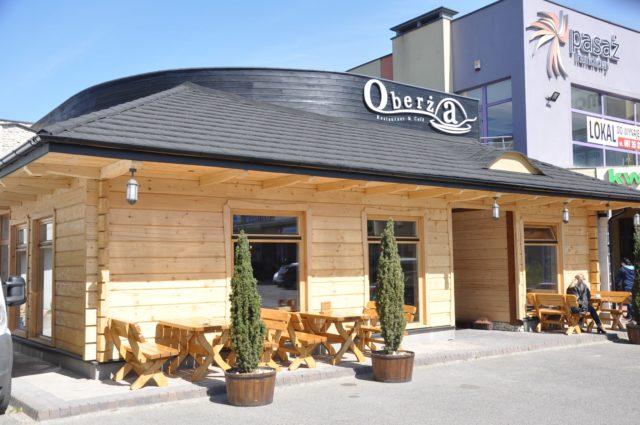 Restauracja Oberża w Krośnie