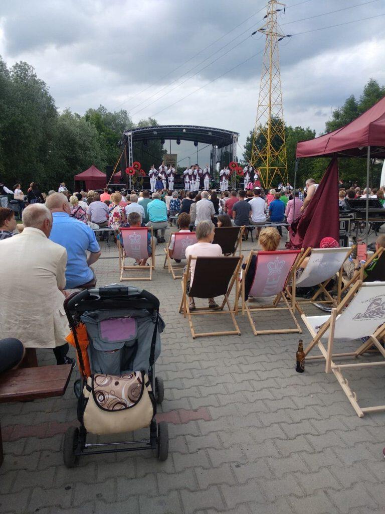 Koncert podczas Wielokulturowej Sobótki nad Wisłokiem