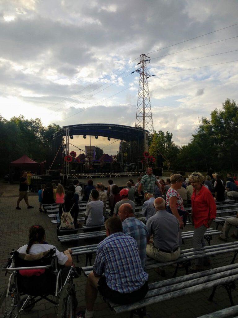 Koncert Kapeli spod Rubani podczas Wielokulturowej Sobótki nad Wisłokiem 2019