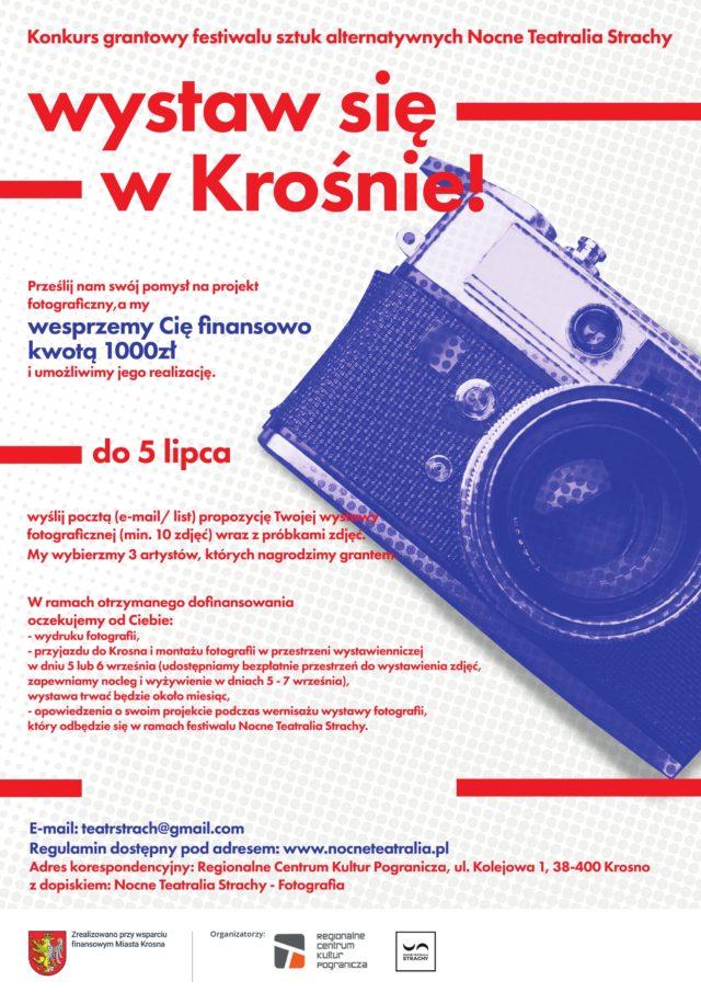 Konkurs fotograficzny Wystaw się w Krośnie!, XII Nocne Teatralia Strachy- festiwal sztuk alternatywnych