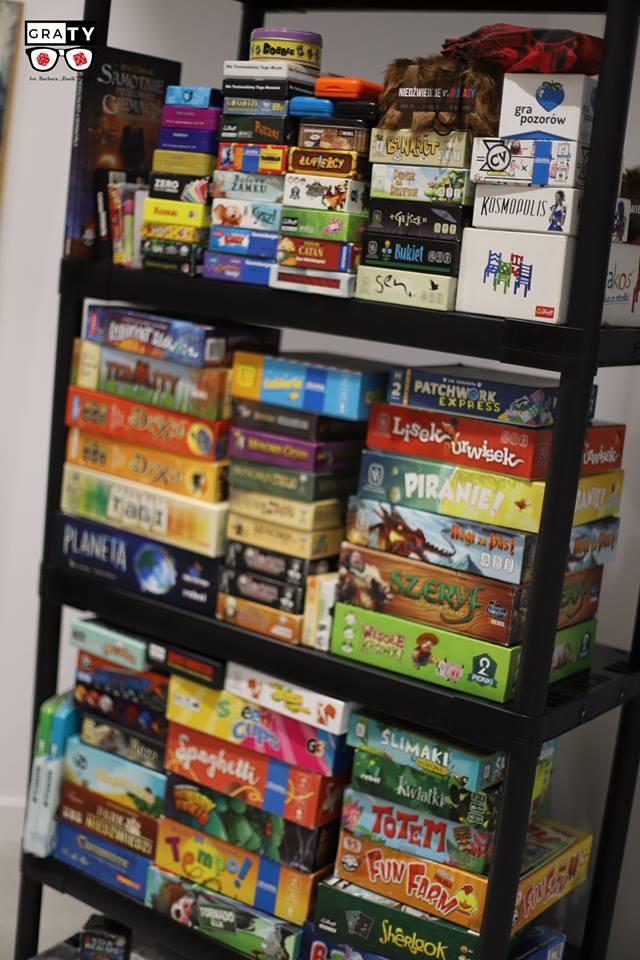 Na KrosConie będzie można poznać gry planszowe różnych wydawnictw