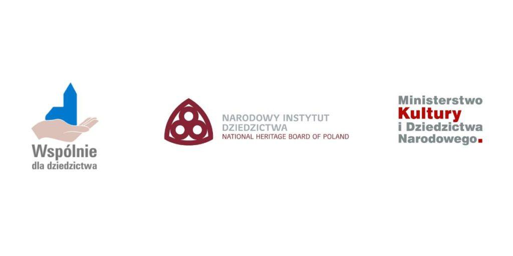Wspólnie dla dziedzictwa, Narodowy Instytut Dziedzicwta, Ministerstwo Kultury i Dziedzictwa Narodowego wspierają projekt Zadomowieni w dziedzictwie