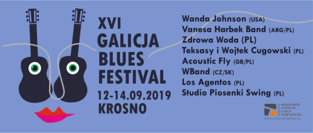 Od 12 do 14 września w Krośnie na Galicja Blues Festival będzie można usłyszeć bluesowe zespoły z całego świata