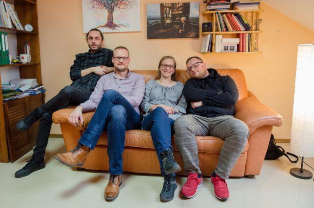 W Centrum Pomocy Psychologicznej w Krośnie pomogą Wam od lewej: Maciej Kobyłka, Piotr Pawłowski, Agnieszka Holly, Maciej Gałowicz